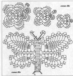 flowers and leaves crochet patterns | make handmade, crochet, craft