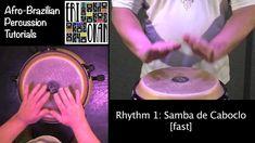 Roots Samba Rhythm 1 - Samba de Caboclo ERI OKAN Afro-Brazilian Percussi...