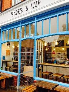 Paper & Cup in Shoreditch, Greater London