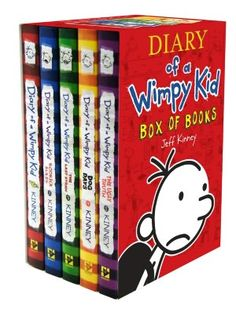Diary of a Wimpy Kid, books 1-6. LOVE these. Laughed out loud all the way through every one. These are NOT just for kids, and if they are, then I guess I'm just a big kid.  KJC