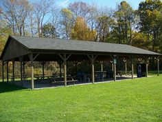 The Outdoor Y has three pavilions with electricity, picnic tables, lights. Great for your family reunion, company picnics and more.