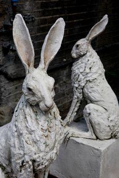 Two hares - Tanya Brett