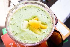 Tahini PIneapple Smoothie #vegan #glutenfree | Keepin' It Kind