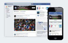 Ferramenta do Facebook permite acompanhar a Copa do Mundo pela rede social | canalforadoaroficial