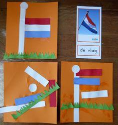 De Nederlandse vlag Koningsdag