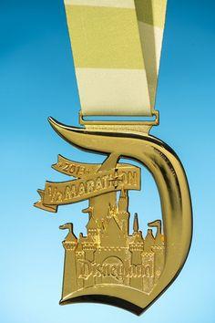2013 Disneyland Half Marathon medal