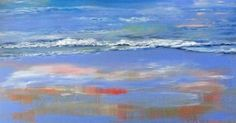 Depths of Serenity   Contemporary Seascape Painting by International Artist Arrachme: Where there is balance there is peace and energy.…