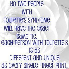 Need to interview someone with tourette's syndrome for 6th grade research paper...?