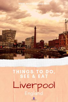 Things to do see & eat in Liverpool England. Discover 6 things to do in Liverpool with these must-see attractions. Take in the city's musical heritage enjoy an afternoon shopping. babies flight hotel restaurant destinations ideas tips Europe Travel Guide, Travel Guides, Travel Destinations, Europe Packing, European Destination, European Travel, Scotland Travel, Ireland Travel, Liverpool England