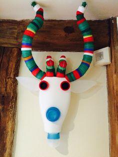 Recycled plastic animal head 7 Deer