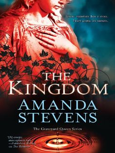 The Kingdom (The Graveyard Queen Book 2) by Amanda Stevens   My Opinion-We don't see Devlin much in this book. We meet a new character Thane who is a mystery & possible threat. Some of the questions Amelia background are answered & of course others are introduced. Its a little lighter then 'The Restorer', but there is still darkness & mystery. The next book 'The Prophet'. https://www.amazon.com/dp/B006YAD7P0/ref=cm_sw_r_pi_dp_LcPLxbXHNNWJX