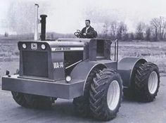 WA-14 FWD The WA would stand for Wagner, which was the tractor company that made John Deere's big 4WD tractors.