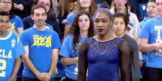 Feel the Joy of the Crowd as This College Gymnast Absolutely Nails Her Routine to Beyoncé  http://www.cosmopolitan.com/entertainment/a9096627/hallie-mossett-ucla-gymnastics-beyonce-routine/?utm_campaign=crowdfire&utm_content=crowdfire&utm_medium=social&utm_source=pinterest  . . . #beyonce #momlife #momlifeisthebestlife #momlifestyle #wherearetheynow #momliferocks #loveactually #fashion #fashionista #instafashion #fashionblogger #Entertainment #fitness #fitnessaddict #fitnessmotivation…