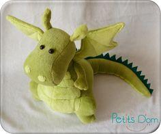 Couture doudou Dragon