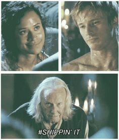 If you don't ship Arthur and Gwen then I sorta don't trust you. But then again if you don't ship Arthur and Merlin then I really don't trust you. Arthur And Guinevere, Merlin And Arthur, King Arthur, Best Tv Shows, Favorite Tv Shows, Movies And Tv Shows, Hunger Games, Merlin Fandom, Merlin Merlin