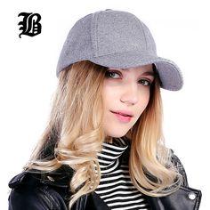 [FLB]Wholesale Unisex New Solid Men'S Fedoras Cotton Baseball Cap Winter Cap Warm Bone Snapback Hat Gorras Fitted Hats For Women