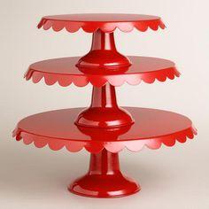 Amelie Cake Stands >> #WorldMarket Holiday #HolidayEnertaining #Christmas