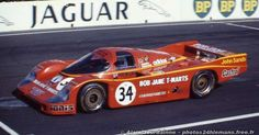 Larry Perkins / Peter Brock - Porsche 956 - Team Australia - LII Grand Prix d'Endurance les 24 Heures du Mans - 1984 FIA World Endurance Championship, round 3