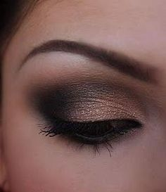 shimmery smokey eye. Recreate this look with everything from Sephora! get a 10% discount at Sephora http://www.stackdealz.com/all/get-all-deals/Get-10percent-Cash-Back-from-Sephora--/0
