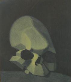 Estampe de Louis FERNANDEZ, Le Crâne