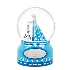 Disney Elsa and Olaf Snow Globe