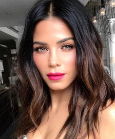 9 Hair Color Trends You're Going to Be Seeing Everywhere This Fall - hair lengths Hair Color 2017, Cool Hair Color, Balayage Hair, Ombre Hair, Auburn Balayage, Jenna Dewan Hair, Medium Hair Styles, Curly Hair Styles, Undone Look
