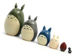 Mon Voisin Totoro Poupées Matryoshka