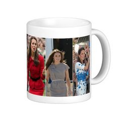Kate Middleton Prince George Mugs   -  Visit my Zazzle Store for more Great Gift Ideas - http://www.zazzle.com/cdandc - #royalfamily #british #gifts #will #kate #mug #souvenir #katemiddleton