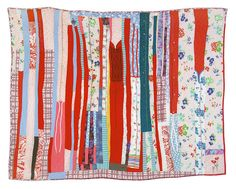 Recyled quilt made out of creator's grandmother's housecoats. I just adore this. Made by Sherri Lynn Wood