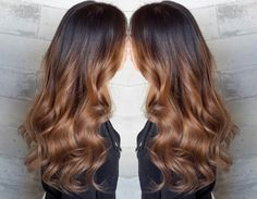 Color melt ombre on this brunette hair beauty by stylist Masey at Butterfly Loft salon in Encino, Los Angeles.  #haircolor #hairstyle #hairinspiration #hairideas
