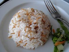 Egyptian rice - The Largest Egyptian Food Recipes Collection