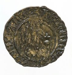 Coin found in the tomb of Archbishop Scrope at York Minster
