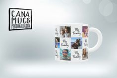 MF3 My Family, Mugs, Tableware, Design, Dinnerware, Cups, Dishes, Families, Design Comics