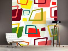 Find Seamless Pattern Colorful Deformed Rectangles stock images in HD and millions of other royalty-free stock photos, illustrations and vectors in the Shutterstock collection. Thousands of new, high-quality pictures added every day. Collage Mural, Poster Mural, Tamara, Style Retro, Inspiration Boards, Vintage Fabrics, Royalty Free Stock Photos, Branding, Chair