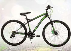 26 Inch Huffy Men's Nighthawk™ Mountain Bike, Black  Looking for a great mountain ride? The 18-speed Huffy Nighthawk provides solid performance starting with the responsive ride of the suspension fork.