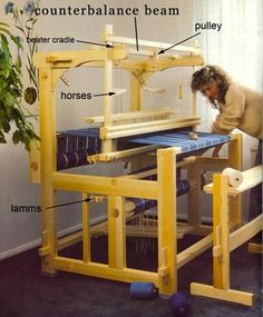 Learning About Looms Tablet Weaving, Weaving Art, Tapestry Weaving, Loom Weaving, Hand Weaving, Loom Knitting Patterns, Weaving Patterns, Knitting Tutorials, Free Knitting