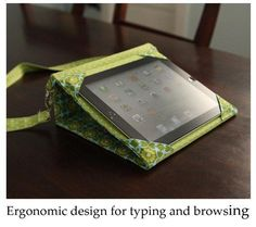 Sewing: Ipad messenger case and stand PDF sewing
