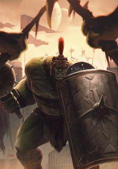 #Hulk #Fan #Art. (Planet Hulk) By: Gilberto Martimiano. ÅWESOMENESS!!!™ ÅÅÅ+