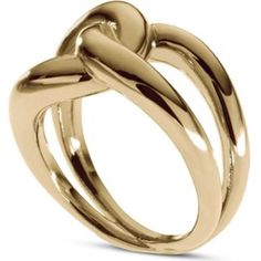 Michael Kors Love Twist Knot Gold-Tone Ring From the iconic Michael Kors collection, this glamorous gold-plated ring featuring an elegant twist knot detail. Perfect for formal events or to add a touch of glamour to everyday.                                                                        Material Yellow Gold plated                                                                                                                       Fits Size 7-7.5-8 Michael Kors Jewelry Rings