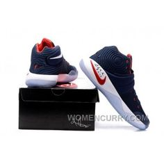 7ca32515249 Nike Kyrie 2 Dream Team Blue Red White Mens Basketball Shoes Authentic XsA7Z