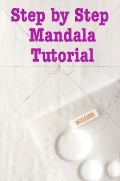 Draw a Mandala Check out this simple step by step mandala tutorial. Rock Painting Patterns, Painting Templates, Dot Art Painting, Mandala Painted Rocks, Mandala Rocks, Mandala Art, Mandela Drawing, Bullet Journal Gifts, Mandela Patterns