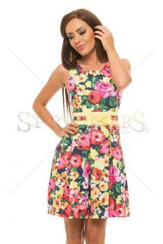 LaDonna Only Blossoms DarkBlue Dress
