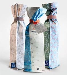 Reusable Wine Bags - Choose 3 | Gifts Cards & Stationery | MIXT Studio | Scoutmob Shoppe | Product Detail