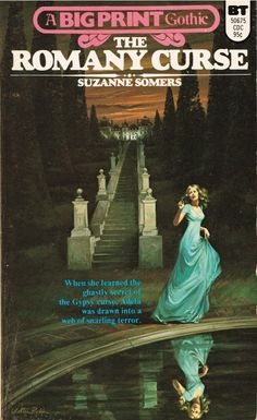 https://flic.kr/p/yw8rzU   The Romany Curse   Belmont Tower Big Print Gothic 50675 (1974)  Suzanne Somers Cover art by Walter Poppm