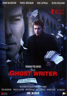 GHOST WRITER - ROMAN POLANSKI - PIERCE BROSNAN - 2010 ORIG. FILMPOSTER A4