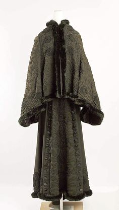 Ensemble    Date:      ca. 1880  Culture:      American (probably)