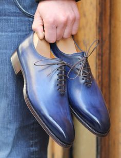 Barbour Mens Lined Waxed-Cotton Jacket- Ogston Jacket - Men's style, accessories, mens fashion trends 2020 Blue Shoes, Men's Shoes, Shoe Boots, Dress Shoes, Shoes Men, Suede Shoes, Leather Shoes, Estilo Cool, Barbour Mens
