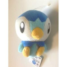 Pokemon 2013 Banpresto UFO Game Catcher Prize Piplup Plush Toy