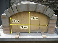 Oven with fireproof stones with rectangular bottom (construction .- Oven with fireproof bricks with rectangular bottom (construction) page 2 So …, # refractory -
