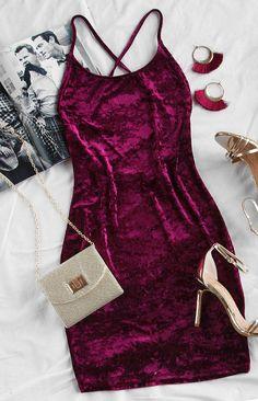 Major Crush Velvet Dress